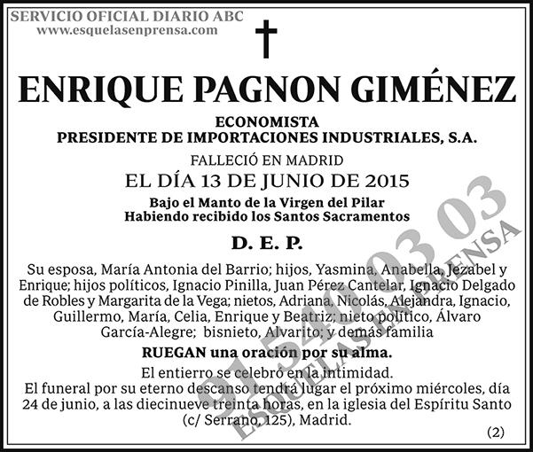 Enrique Pagnon Giménez